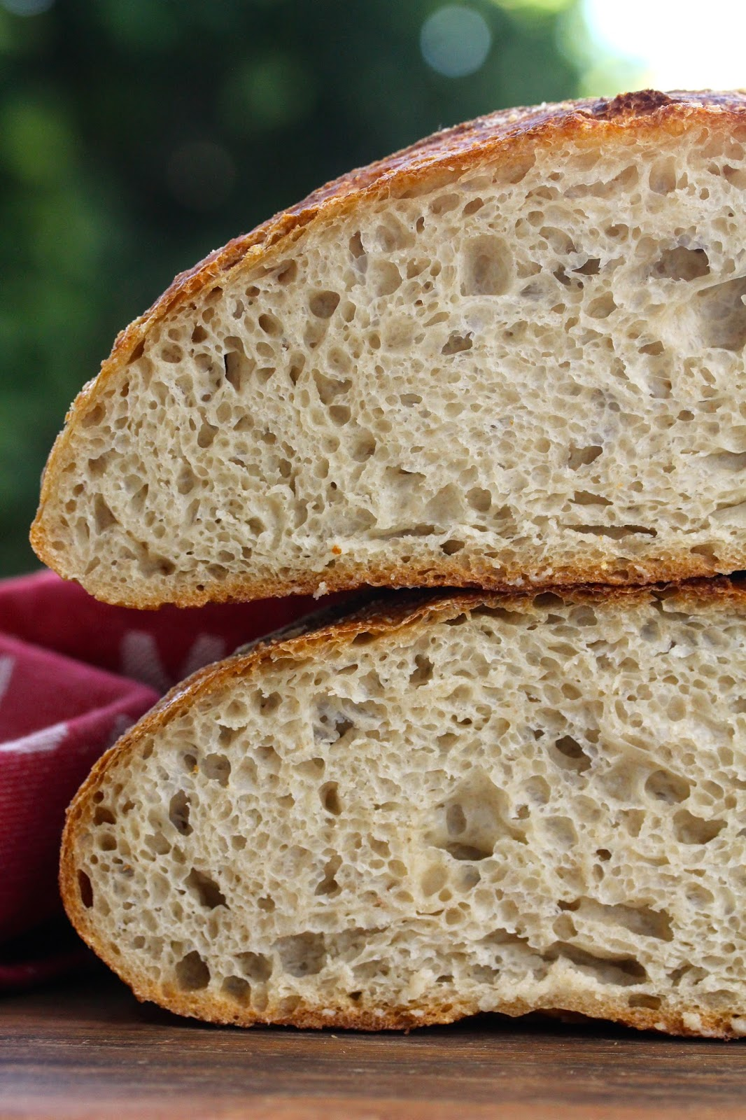 Country Bread With Liquid Levain