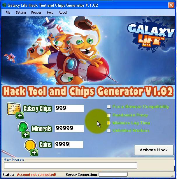 Galaxy Life Hack Tool Download Free ~ Hacks, Cracks and ...