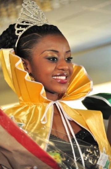 Miss Senegal 2012 winner Penda Ly