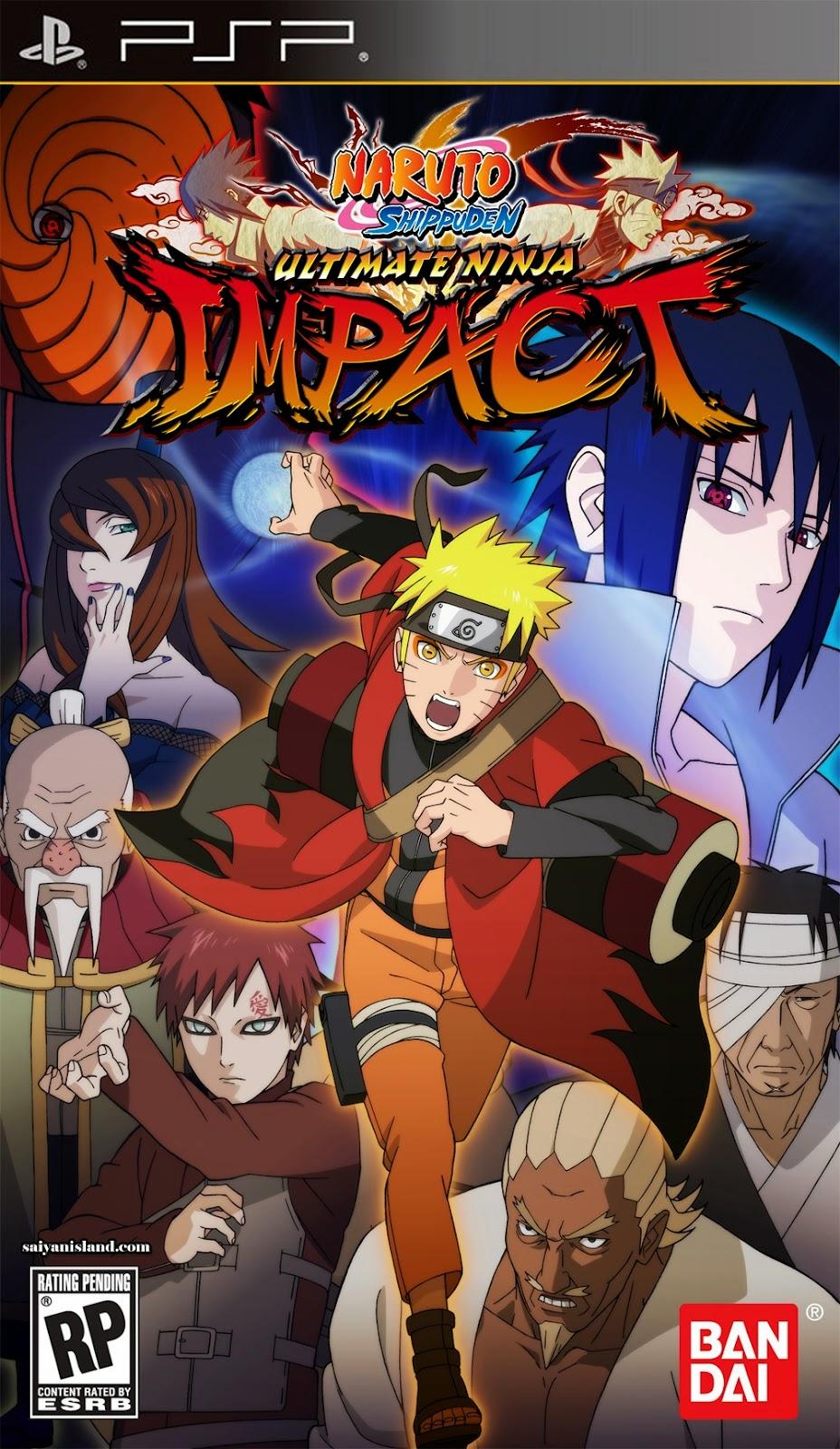PSP - Naruto Shippuden - Ultimate Ninja Impact (USA)