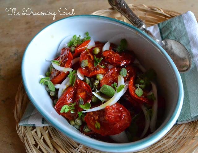 l'insalata di pomodori canditi e....sorry!