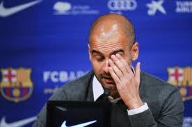 Pep Guardiola Tinggalkan Barcelona