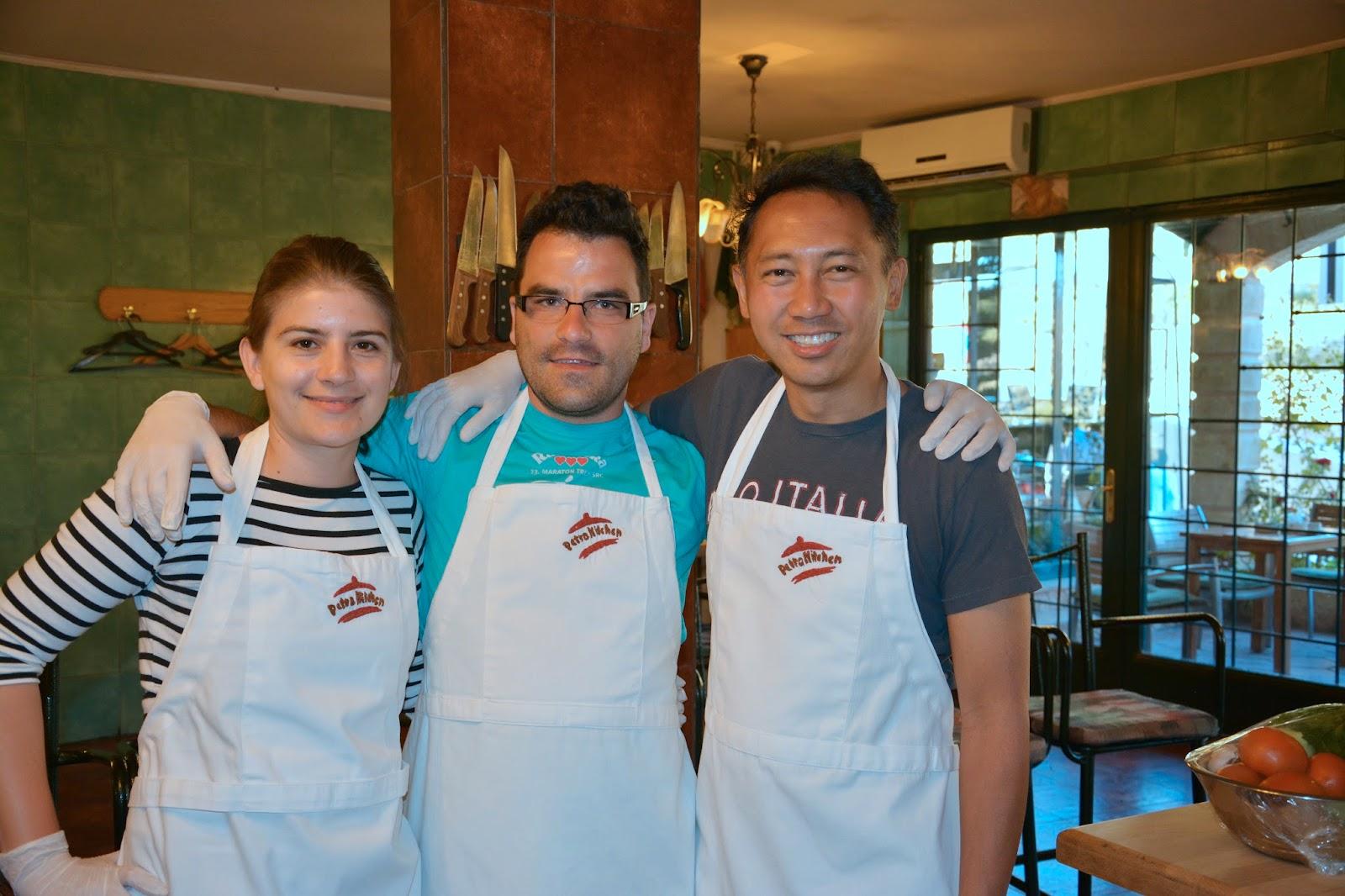 Borneja: Do it yourself: Petra kitchen
