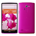 Press image of pink colour LG Isai FL leaked online along with specifications
