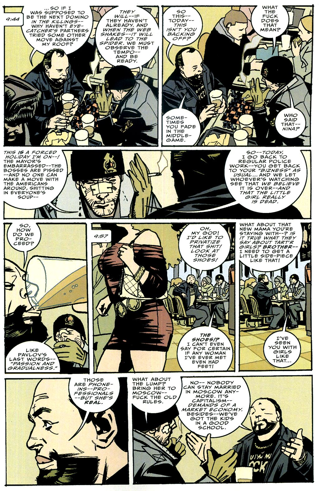 Read online The Winter Men comic -  Issue #4 - 4