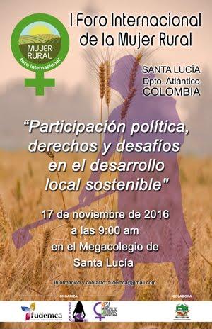 I Foro Int. de la Mujer Rural