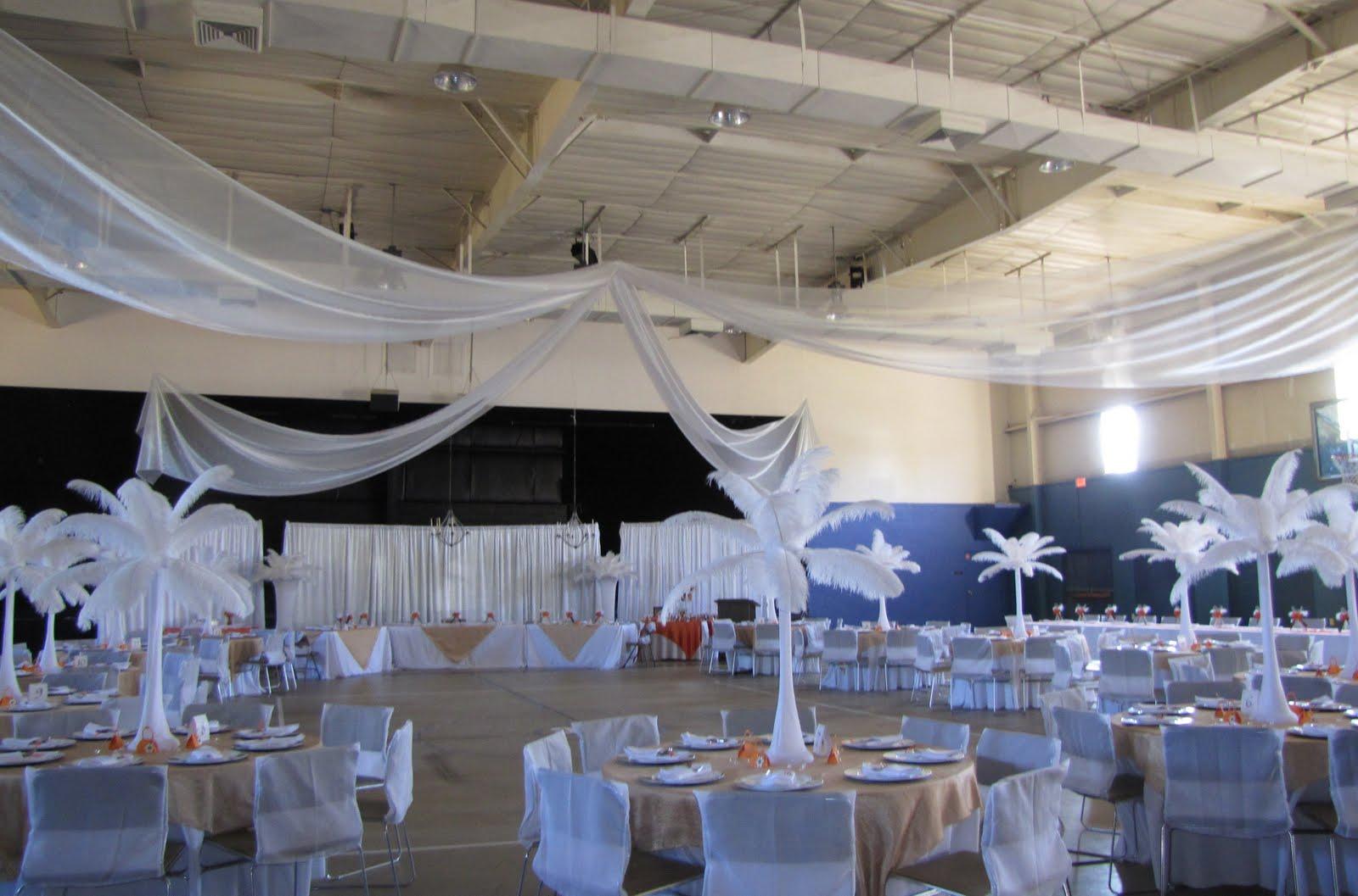 Party People Event Decorating Company White Feather