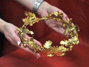 Как сделать греческие венки своими руками