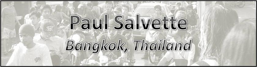 Paul Salvette in Bangkok