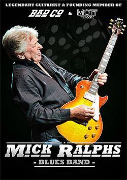 Conciertos de Mick Ralphs Blues Band en octubre