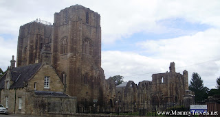 cathedral ruins in Elgin