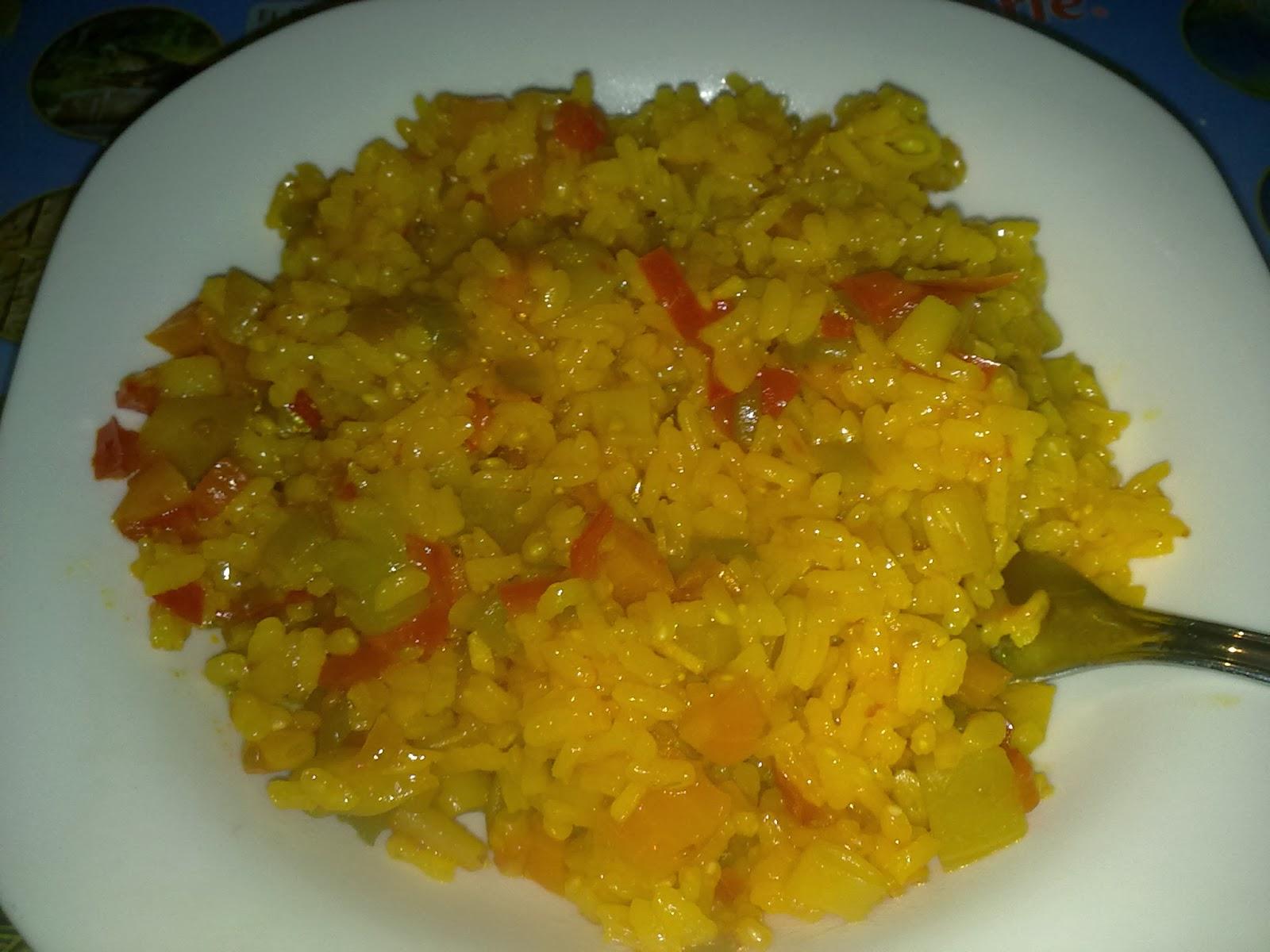 La cocina nomada paella de verduras for Como hacer paella de verduras