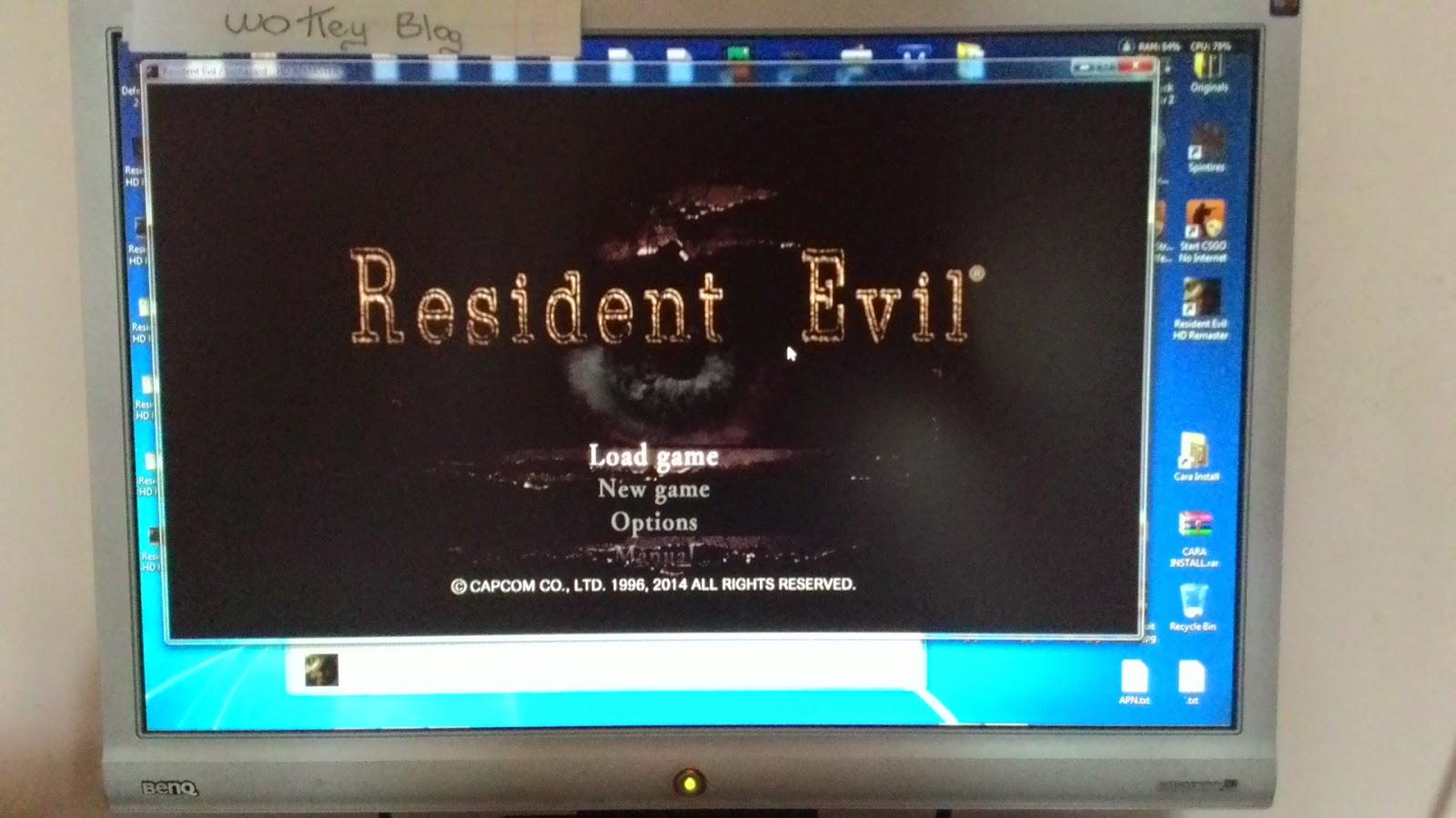 Cara Install Resident Evil Hd Remaster Wokey Blog