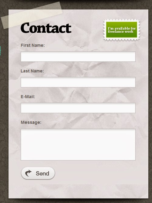 Cara Membuat Contact Form / Formulir di Blog