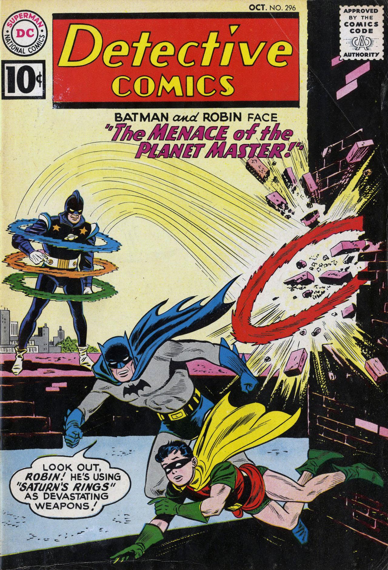 Detective Comics (1937) 296 Page 1