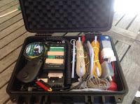 Pakket koffert med FT-817