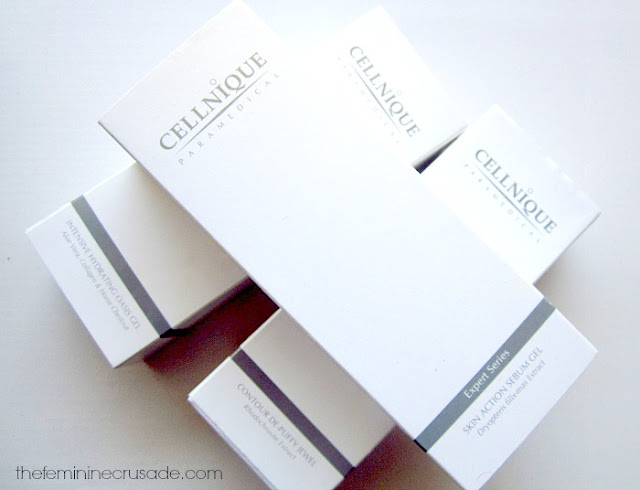 Cellnique Skincare packaging