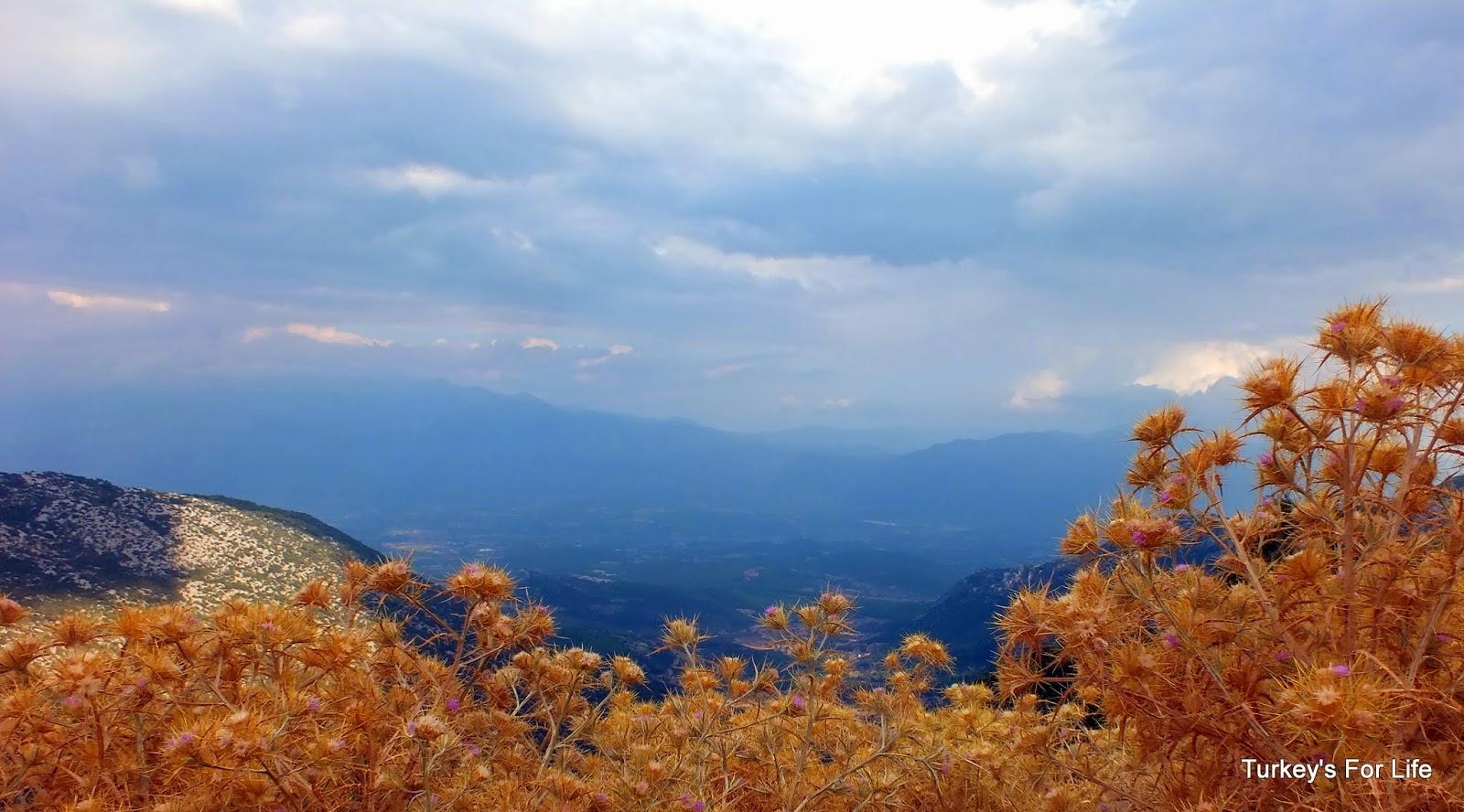 Xanthos Valley Views From Babadağ Mountain, Turkey