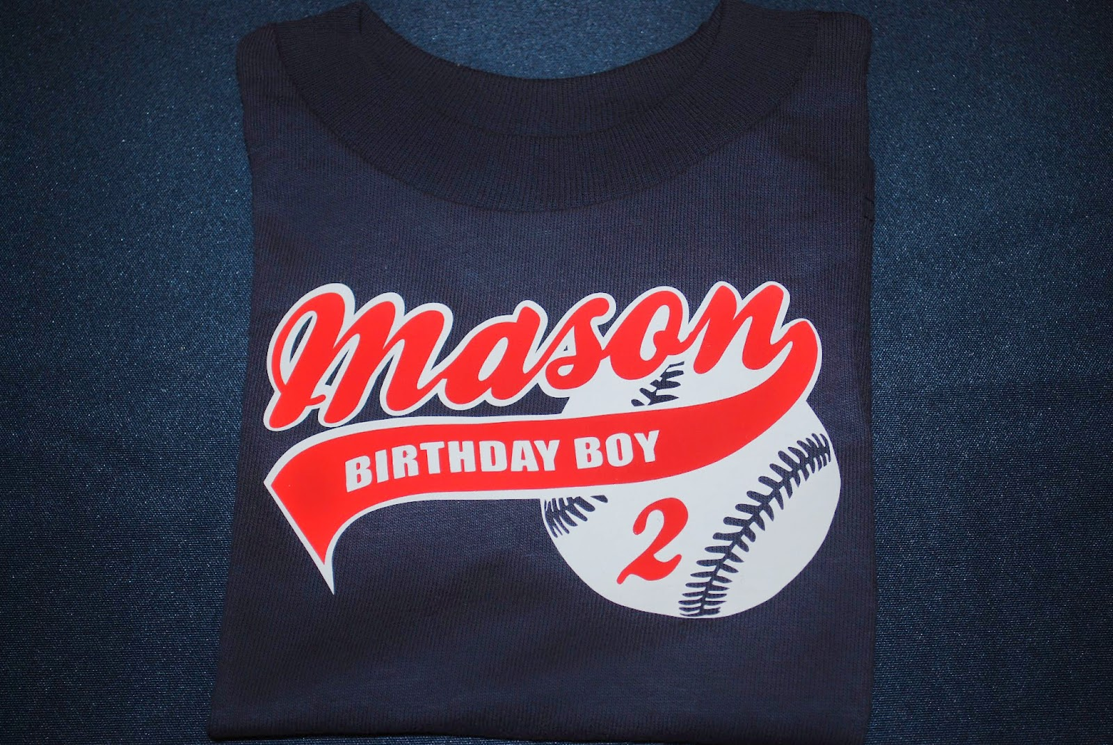 Masons Birthday Shirt Also Came From Etsy