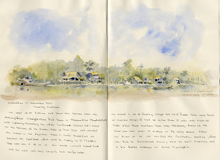 Mekong River sketch