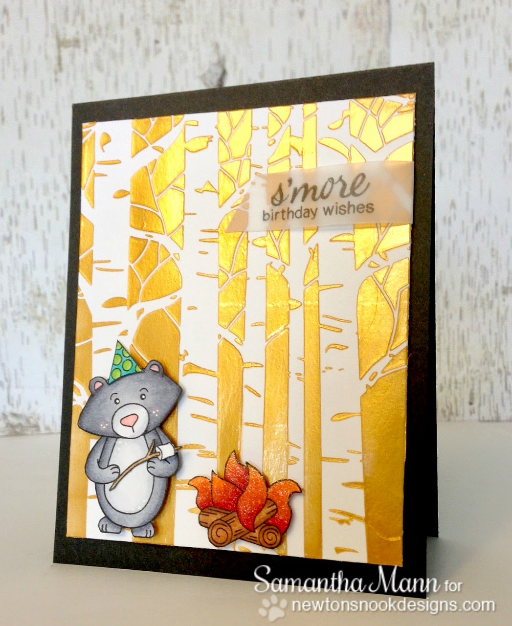 Sam\'s Scrap Candy: smore birthday wishes and campfire dreams
