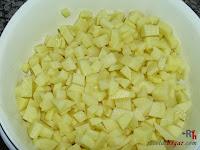 Tortilla española rellena - Paso 2