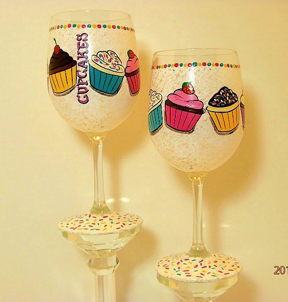 Kudos Kitchen By Renee - Cupcake wine glasses
