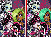 6 diferencias Monster High