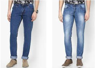 Buy Branded Men's Denims at Flat 60% Off : Buy To Earn