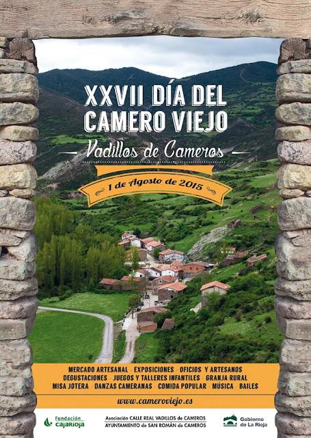 XXVII Día del Camero Viejo: Vadillos de Cameros, 1 de agosto de 2015