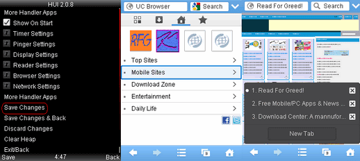 Download UC Browser 8.6.0.199 Handler UI208 Java jar zip link