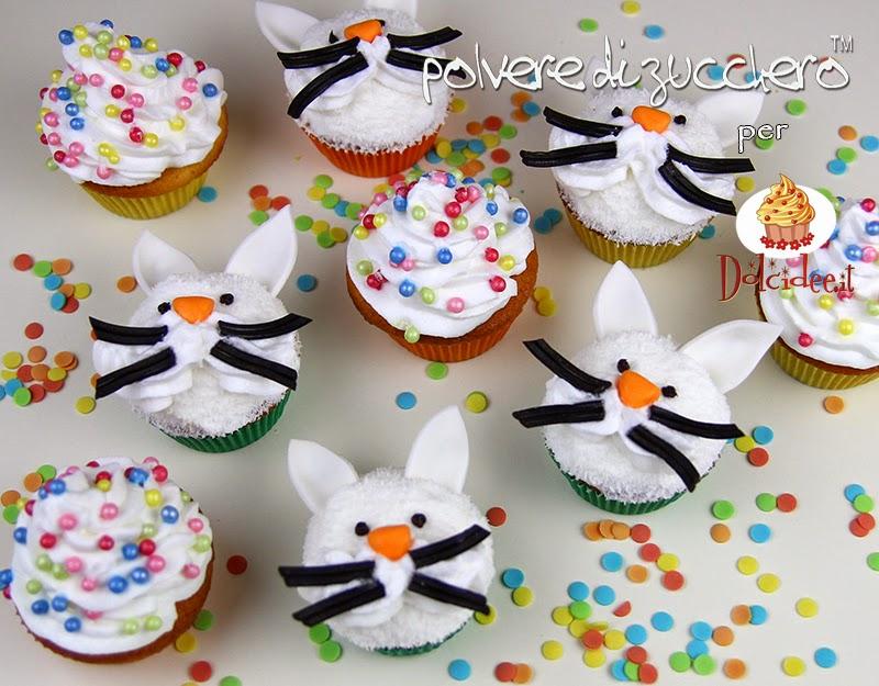 tutorial cupcake passo a passo pasqua dolcidee polvere di zucchero