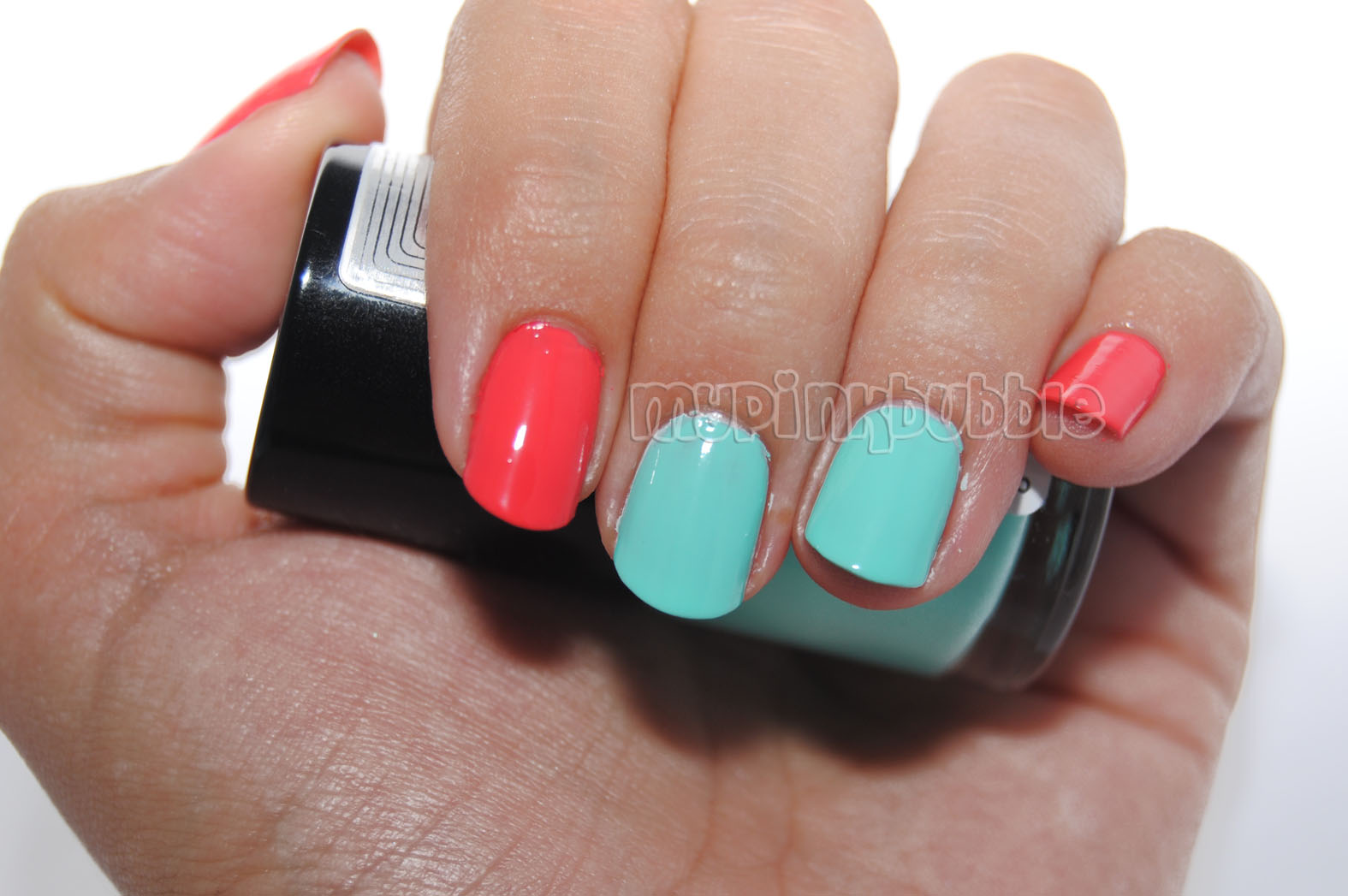 Belle esmalte 53 Tropic heat swatch
