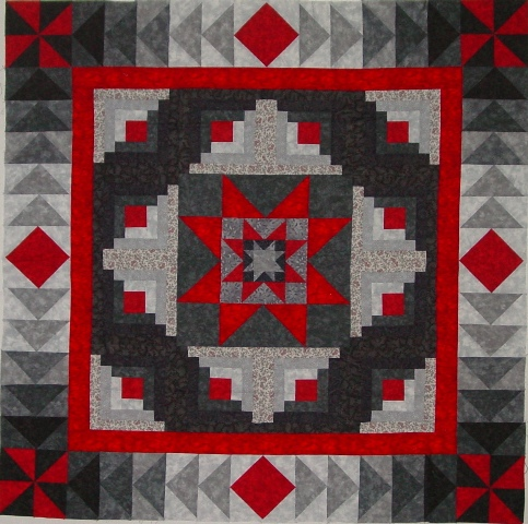 Diamond Log Cabin Star Quilt Pattern - Concept Cars and Limited