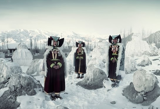Ladakhi people, India.