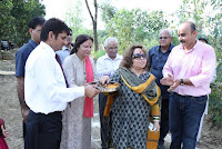 Mrs. Salma Ansari Launches Arushi Group