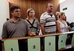 The Groenewald family in court.