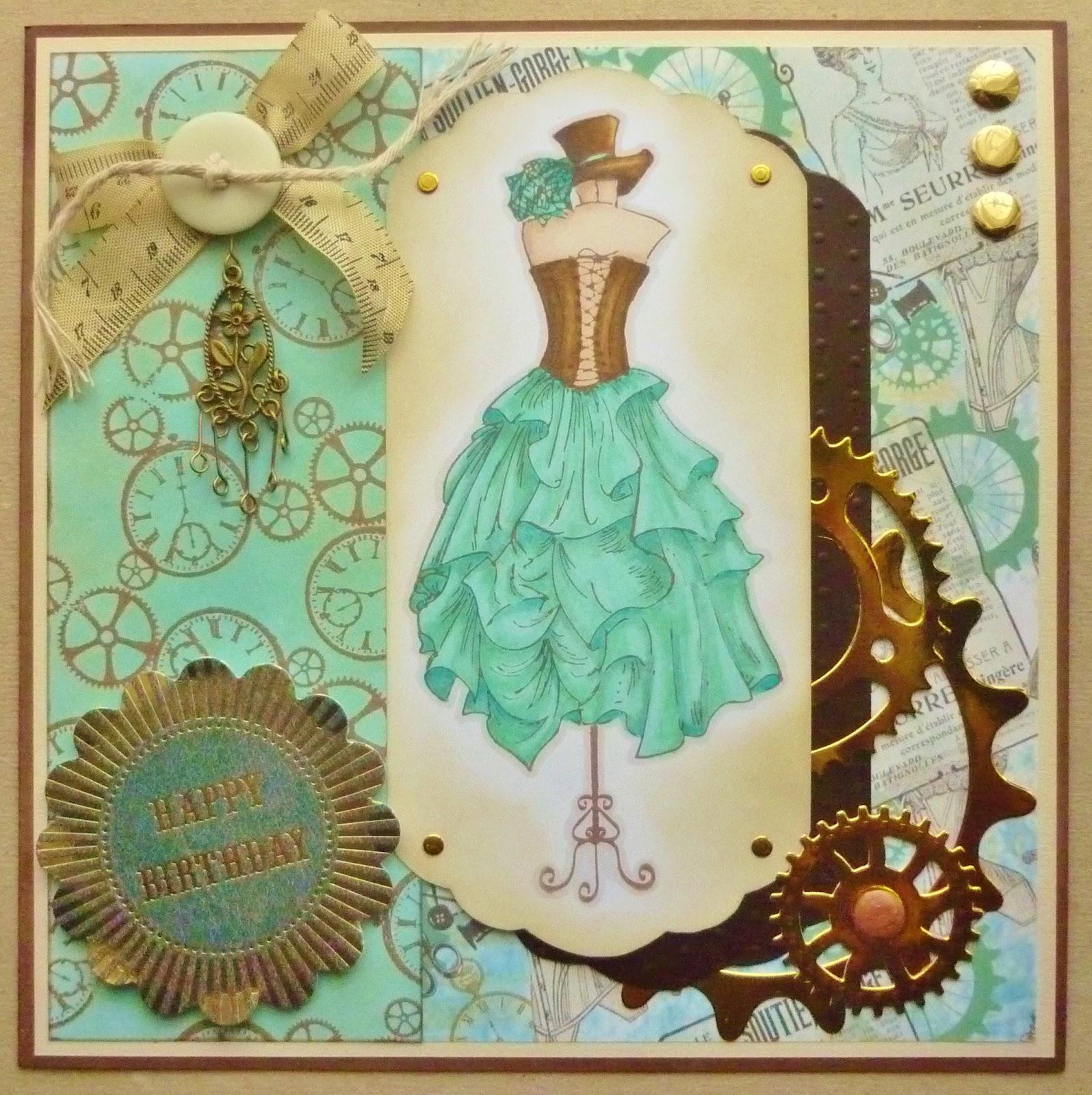 Ace Cards Steampunk Birthday – Steampunk Birthday Card