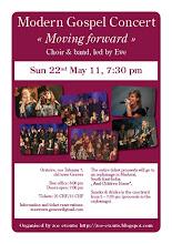 Flyer Modern Gospel Concert May 2011