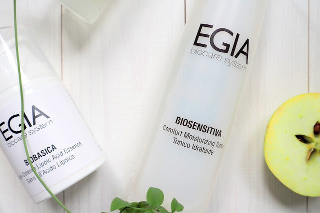 Увлажняющий тоник Egia BioSensitiva Comfort Moisturizing Toner.