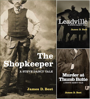 The shopkeeper, Leadville, Murder at Thumb Butte
