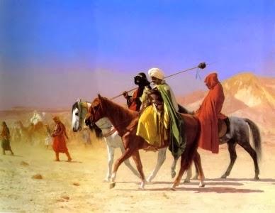 ilustrasi zaman Abdullah bin Mubarak