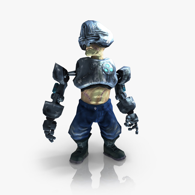 Cyborg games character for sale