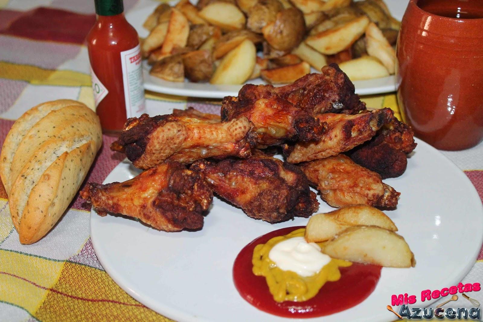 Alitas de pollo...