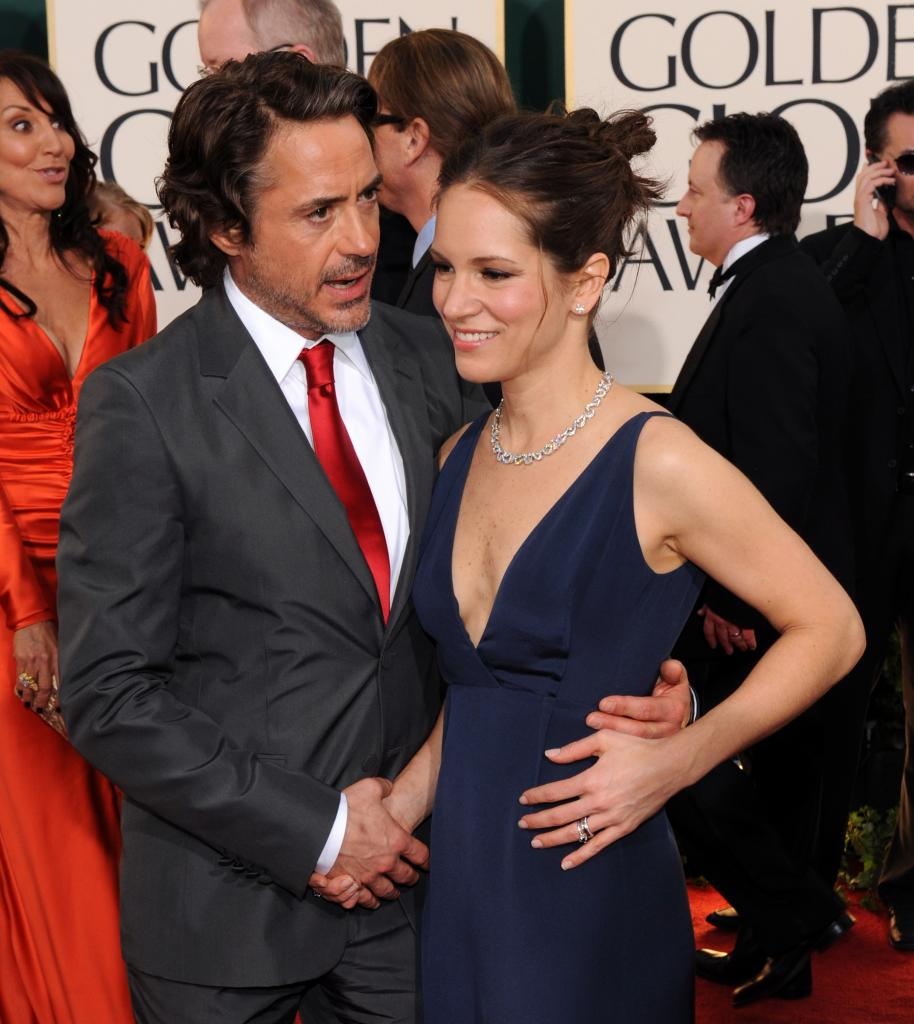 Robert Downey Jr Wife: With Wife Photos-Images 2012