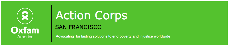 SF Bay Area Oxfam Action Corps