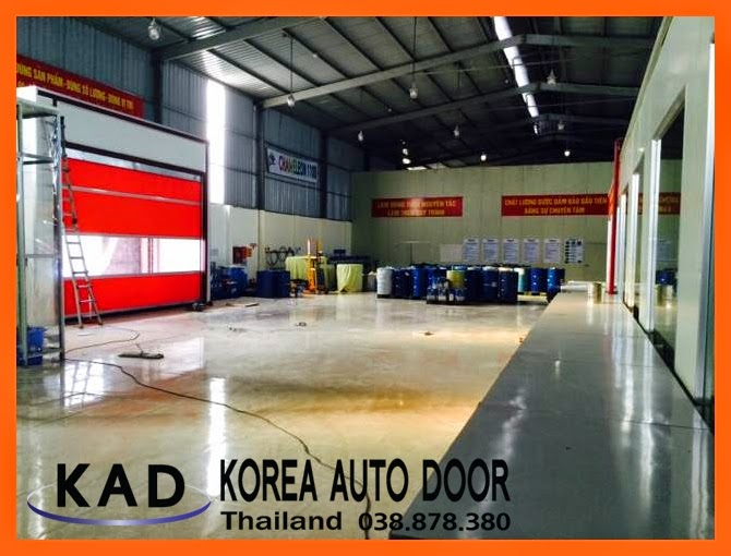 interlock function on high speed door Thailand