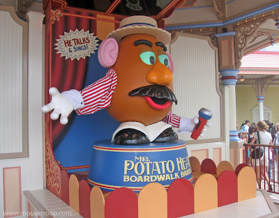 Mr. Potato Head Disney California Toy Story Mania