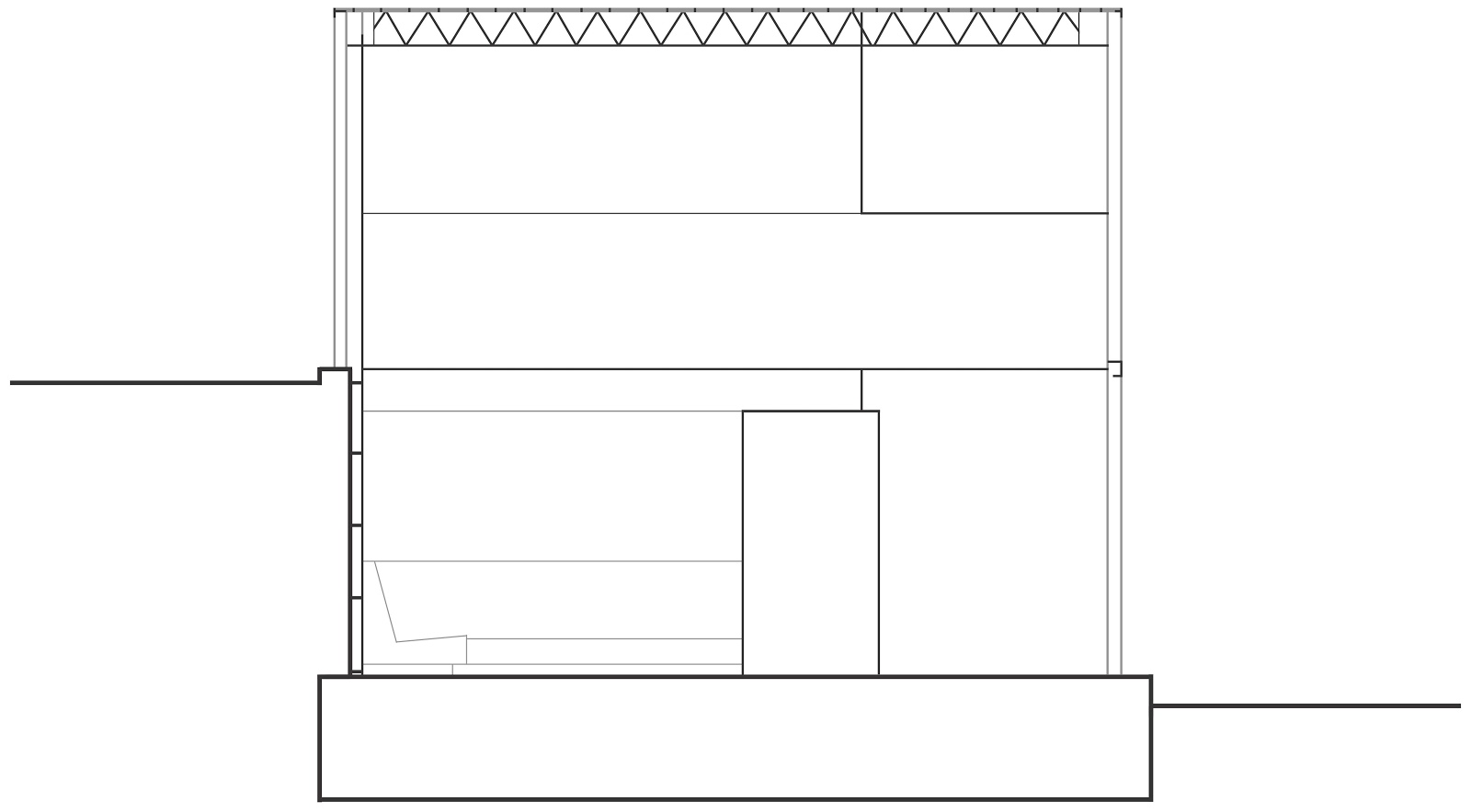 Eames House Plan Section Elevation Plans