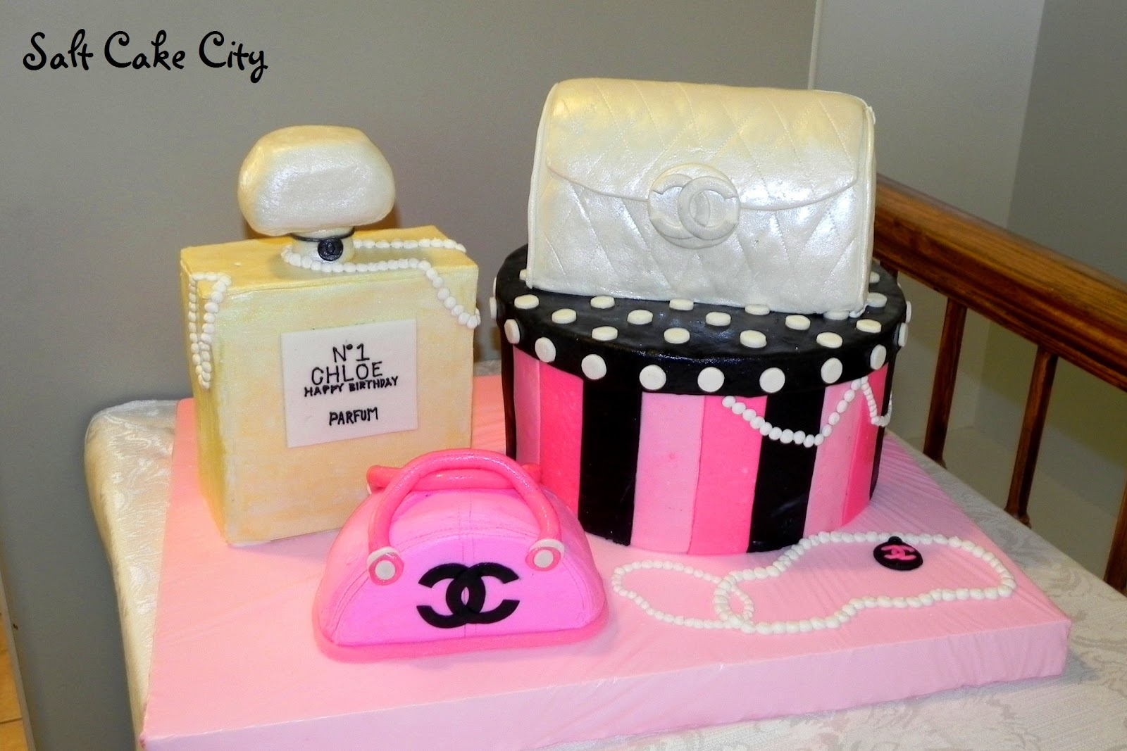 Salt Cake City Chanel No 1 In Cake Form